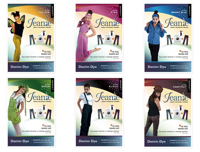 Jeanie Packaging, 11 colors